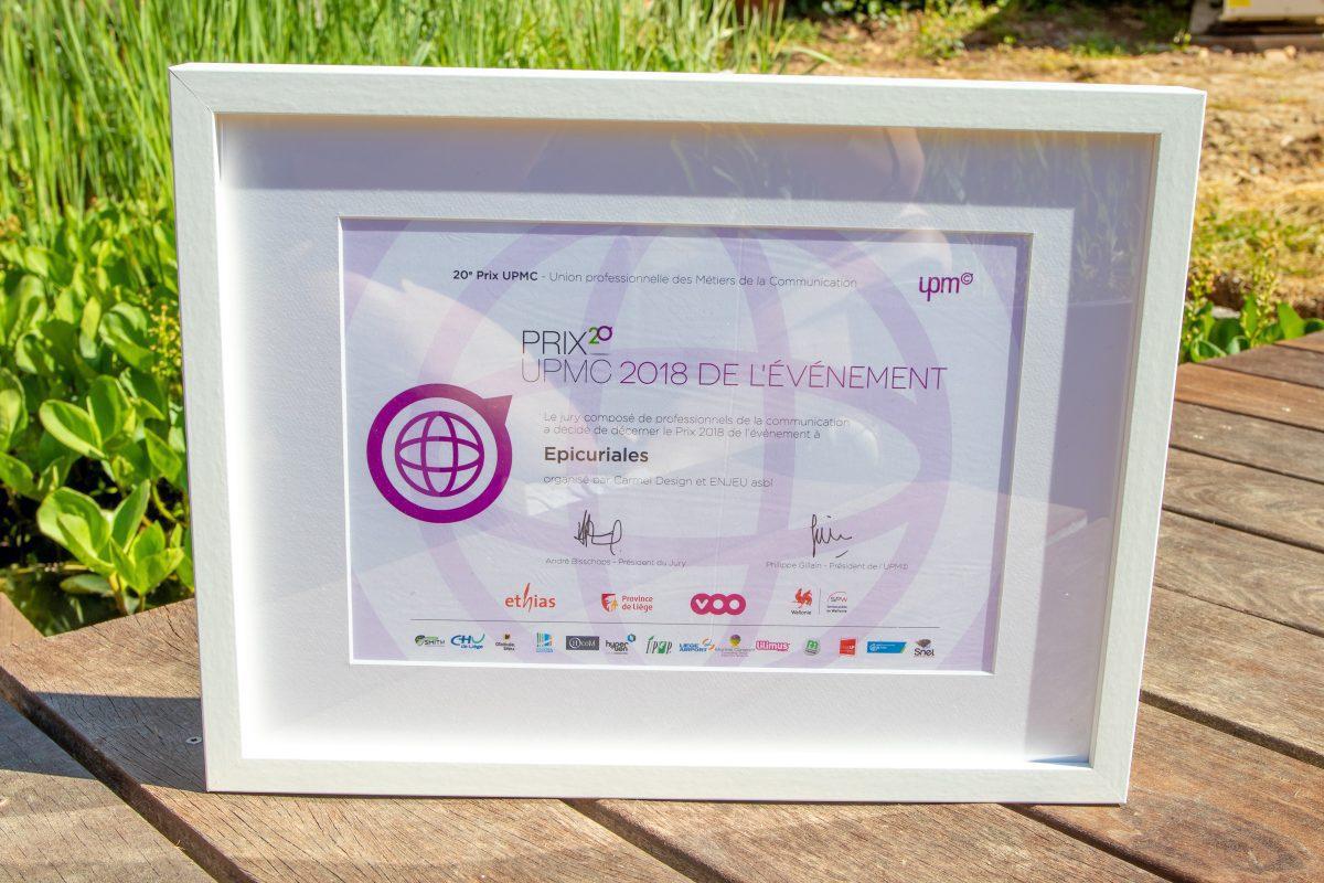 Prix UPMC Epicuriales